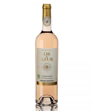 or-&-azur-rosé-gérard-bertrand-shelved-wine